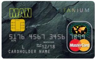MAN 鈦金信用卡