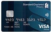 渣打「優先理財」信用卡