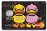 B. Duck好朋友系列萬事達白金卡