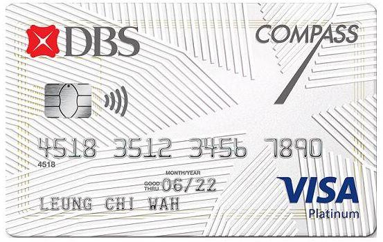COMPASS VISA 大專生信用卡